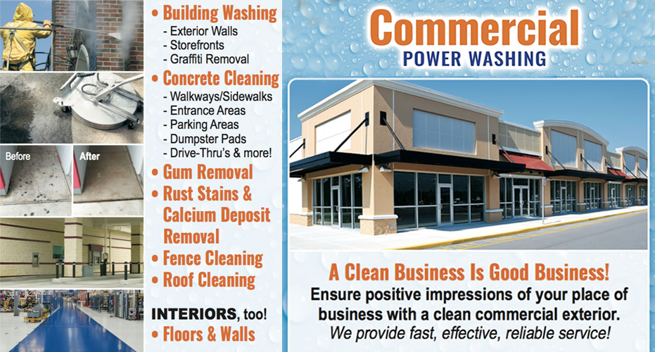 Commercial Pressure Washer Equipment, Power Washing for business, www.asappowerwashing.com