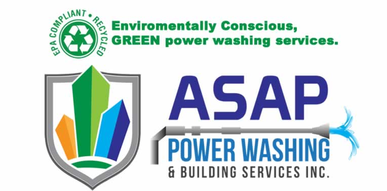 Green Power Washing, ASAP Power Washing and Building Services, www.asappowerwashing.com
